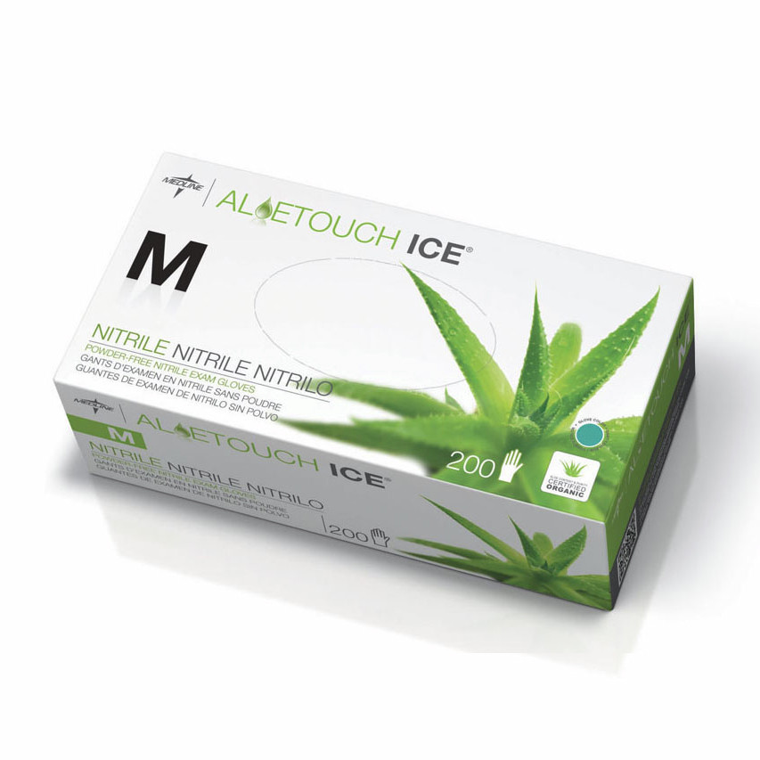 Aloetouch Ice Nitrile Gloves
