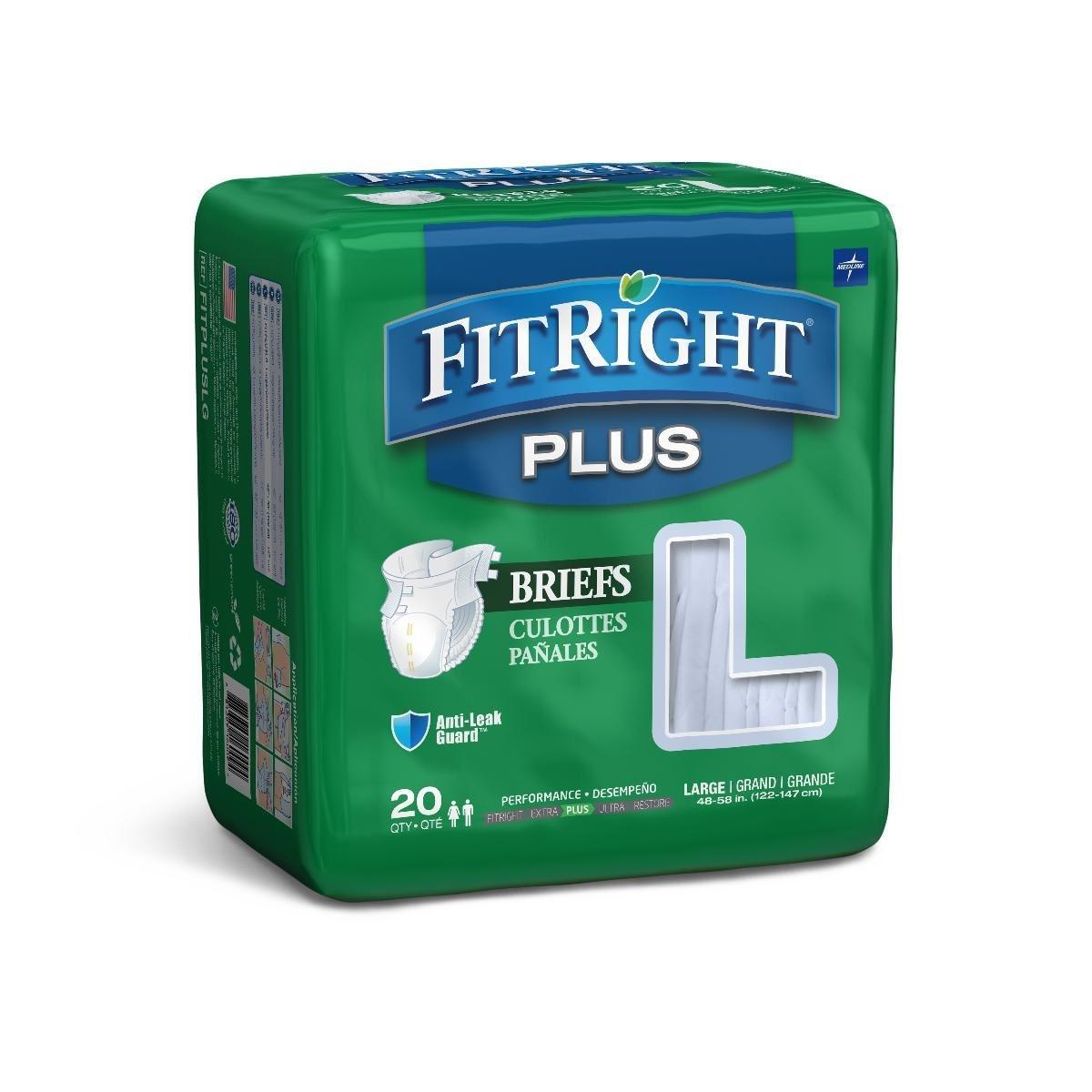 FitRight Restore Super Incontinence Briefs