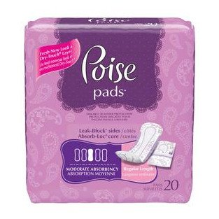 Poise DryTouch Pads