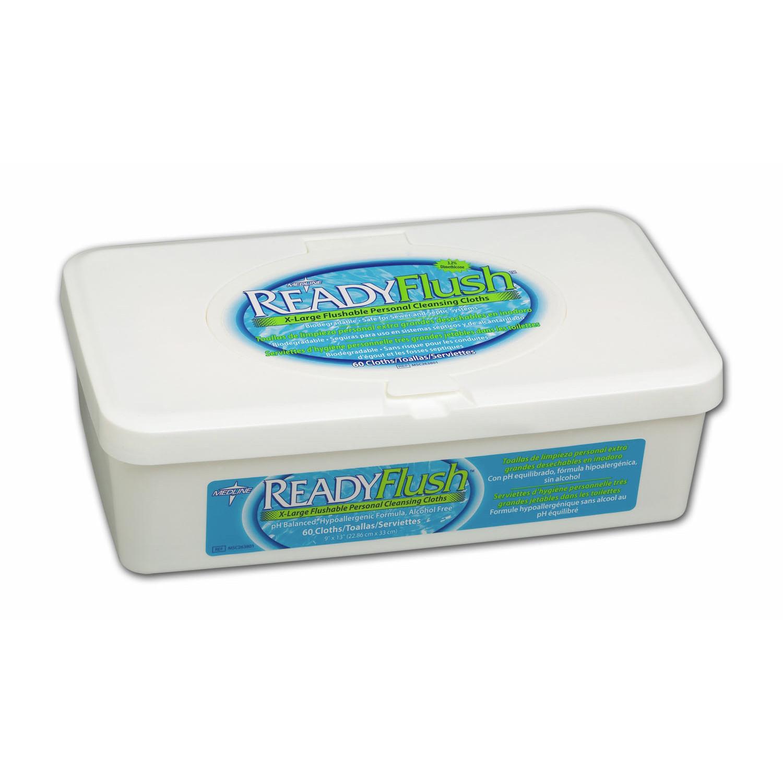 ReadyFlush Flushable Wet Wipes - Tub