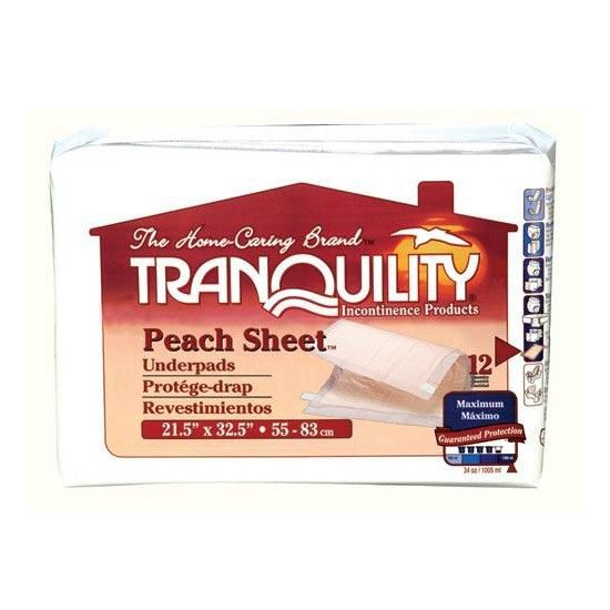 Tranquility Peach Sheet
